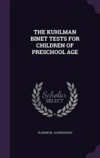 Kuhlman Binet Tests for Children of Preschool Age