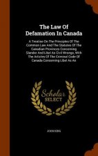 Law of Defamation in Canada