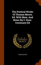 Poetical Works of Thomas Moore, Ed. with Mem. and Notes by C. Kent. Centenary Ed