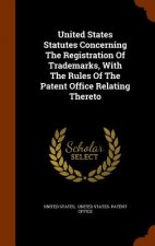 United States Statutes Concerning the Registration of Trademarks, with the Rules of the Patent Office Relating Thereto