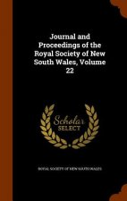 Journal and Proceedings of the Royal Society of New South Wales, Volume 22