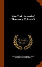 New York Journal of Pharmacy, Volume 3