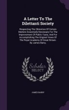 Letter to the Dilettanti Society
