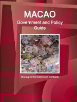 Macao Government and Policy Guide - Strategic Information and Contacts