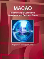 Macao Internet and E-Commerce Investment and Business Guide