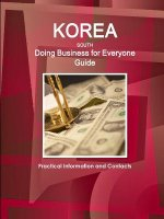 Korea South - Doing Business for Everyone Guide