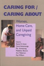 Caring for / Caring About