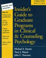 Insider's Guide to Graduate Programs in Clinical and Counsel