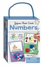 Numbers Building Blocks - Jigsaw Flash Cards