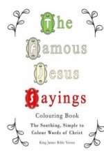 Famous Jesus Sayings Colouring Book