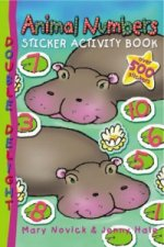 Animal Numbers Sticker Activity Book