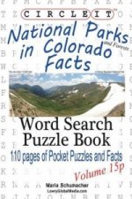 Circle It, National Parks and Forests in Colorado Facts, Pocket Size, Word Search, Puzzle Book