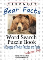 Circle It, Bear Facts, Pocket Size, Word Search, Puzzle Book
