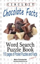 Circle It, Chocolate Facts, Word Search, Puzzle Book