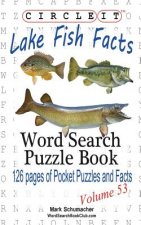 Circle It, Lake Fish Facts, Word Search, Puzzle Book