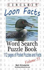 Circle It, Loon Facts, Word Search, Puzzle Book