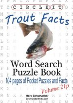 Circle It, Trout Facts, Pocket Size, Word Search, Puzzle Book