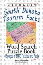 Circle It, South Dakota Tourism Facts, Word Search, Puzzle Book