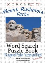Circle It, Mount Rushmore Facts, Pocket Size, Word Search, Puzzle Book