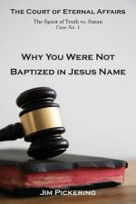 Why You Were Not Baptized in Jesus Name