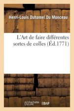 L'Art de Faire Differentes Sortes de Colles