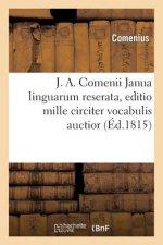 J. A. Comenii Janua linguarum reserata, editio mille circiter vocabulis auctior