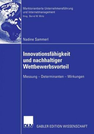 Innovationsfahigkeit Und Nachhaltiger Wettbewerbsvorteil