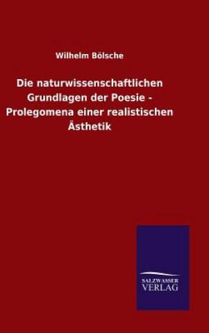 Naturwissenschaftlichen Grundlagen Der Poesie - Prolegomena Einer Realistischen  sthetik
