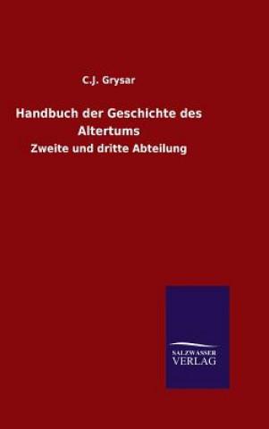Handbuch Der Geschichte Des Altertums