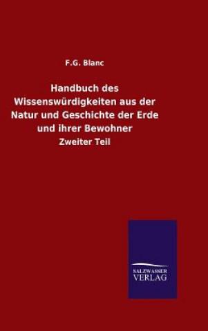 Handbuch Des Wissensw rdigkeiten Aus Der Natur Und Geschichte Der Erde Und Ihrer Bewohner