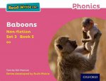 Read Write Inc. Phonics: Pink Set 3 Non-Fiction 5 Baboons