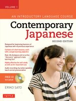 Contemporary Japanese Textbook Volume 1