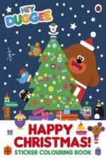 Hey Duggee: Happy Christmas! Sticker Colouring Book