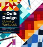 QUILT DESIGN COLORING WORKBOOK