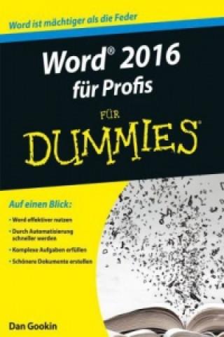 Word 2016 fur Profis fur Dummies