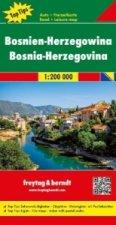 Automapa Bosna a Hercegovina 1 : 200 000