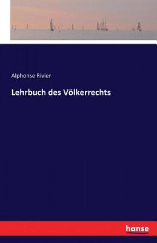 Lehrbuch Des Voelkerrechts