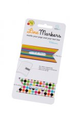 Line Markers Ribbons - Magnetische Lesezeichen