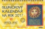 Sluníčkový kalendář 2017 - stolní
