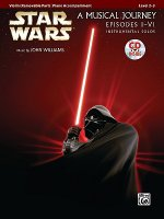 Star Wars: A Musical Journey, Violin (Removable Part)/Piano