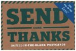 Send Thanks Fill in the Love Postcards