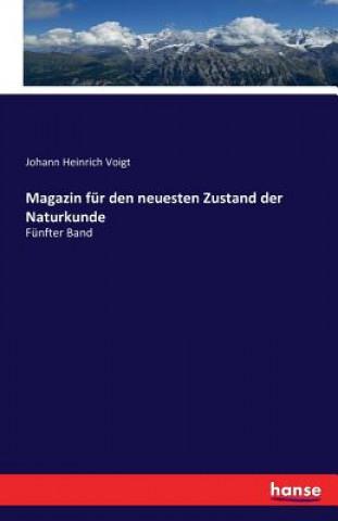 Magazin Fur Den Neuesten Zustand Der Naturkunde