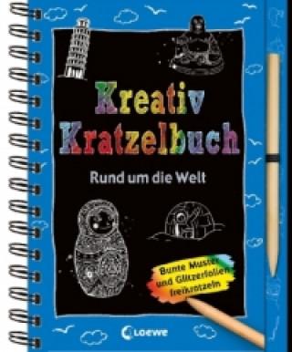 Kreativ-Kratzelbuch: Rund um die Welt