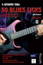 E-Gitarre Training - 50 Blues Licks, Tabulatur-Heft m. DVD