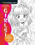 Manga Artist's Coloring Book: Girls!