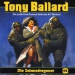 Tony Ballard - Die Satansdragoner, 1 Audio-CD