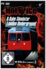 U-Bahn Simulator, World of Subways 3, 1 DVD-ROM