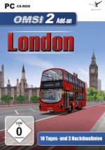 OMSI 2 - AddOn London, 1 DVD-ROM