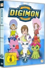 Digimon Adventure. Staffel.1.2, 3 DVDs
