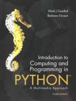 Introduction to Computing and Programming in Python + Myprogramminglab With Pearson Etext Access Code
